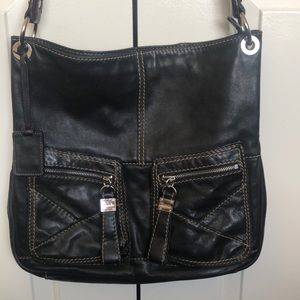 Tiangello 100% leather bag.